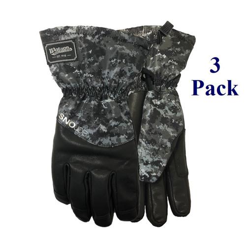 Sno Job - FG Goatskin Palm - Insulated - M-XL (3 Pack)