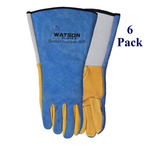 Yellow Tail - FG Deerskin Palm - Lined Back - S-XL (6 Pack)