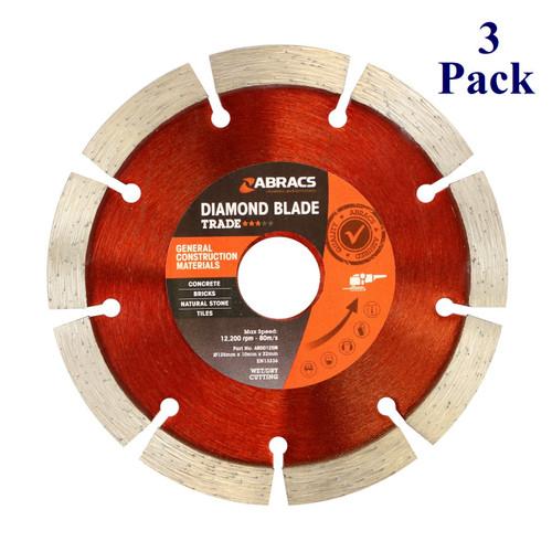 "5"" X 7/8"" - General Purpose Diamond Blade (3 Pack)"