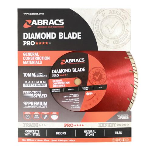 "14"" X 20mm / 1 Inch - Professional Diamond Blade"