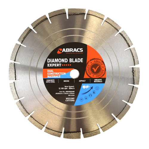 "12"" X 20mm - Asphalt Plus Expert Diamond Blade"