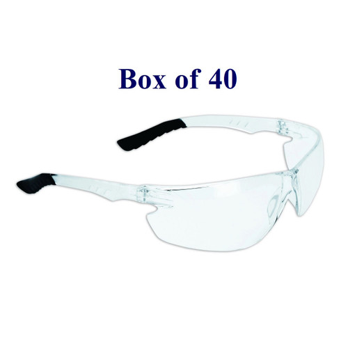 Techno Anti-Fog CSA Safety Glasses - Clear (Case of 40)