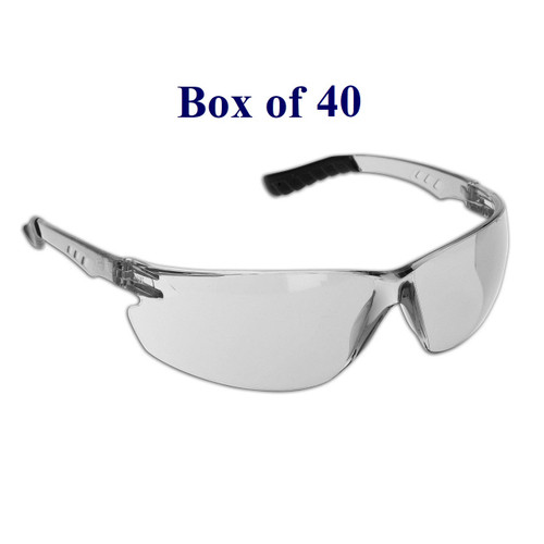 Techno Anti-Fog CSA Safety Glasses - Indoor/Outdoor Mirror (Case of 40)