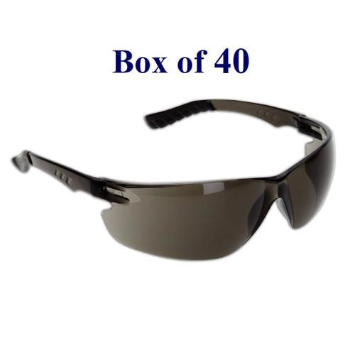 Techno Anti-Fog CSA Safety Glasses - Smoke (Case of 40)