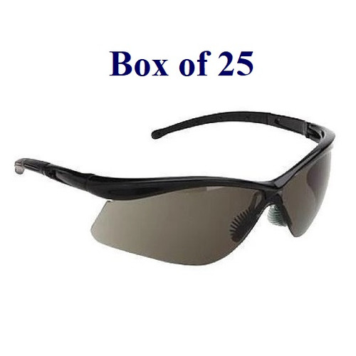 Warrior Anti-Fog CSA Safety Glasses w/ Soft Nose Piece - Smoke (Case of 25)