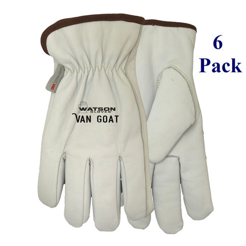 Van Goat - FG Goatskin - ANSI Cut Lv A5 - Insulated - S-2XL  (6 Pack)