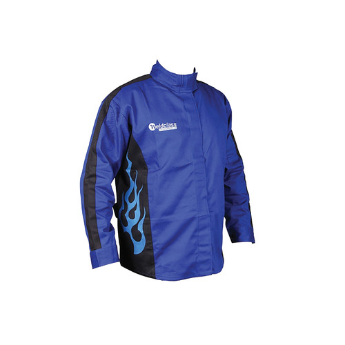 Promax Blue Flame FR Welding Jacket (S-3XL)