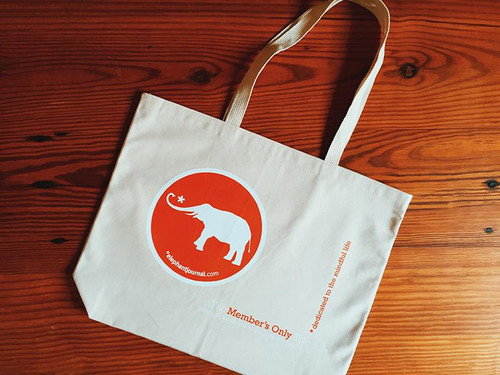 The Elephant Member's Tote Bag