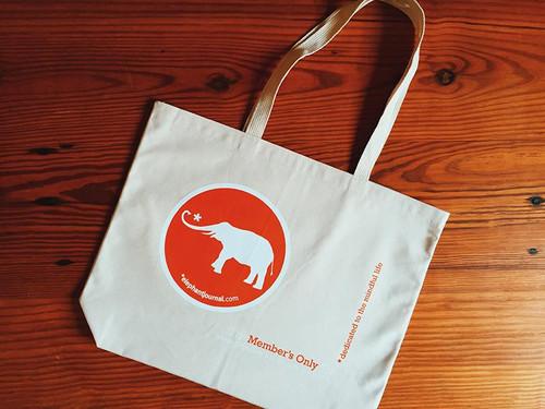The Elephant Member's Tote Bag