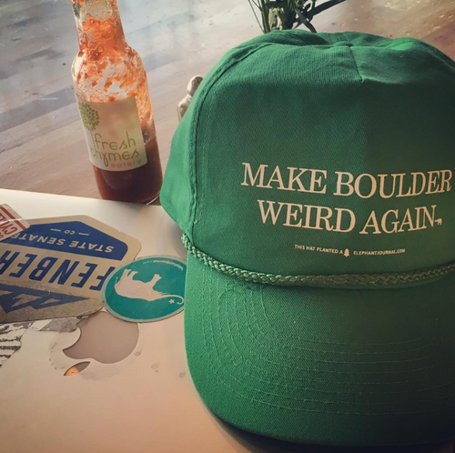 Make Boulder Weird Again - The Hat!