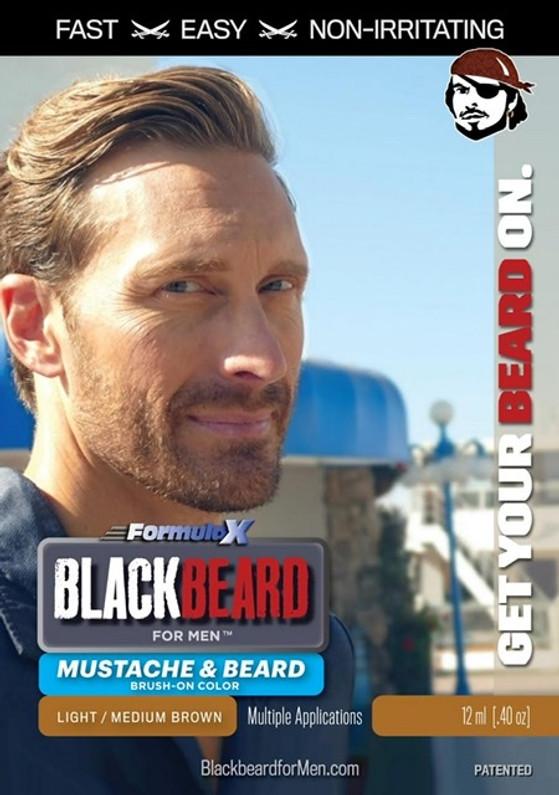New Blackbeard for Men colour - Light Medium Brown