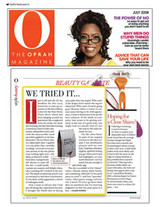 Betty Pubic Hair Dye Article in The Oprah Magazine