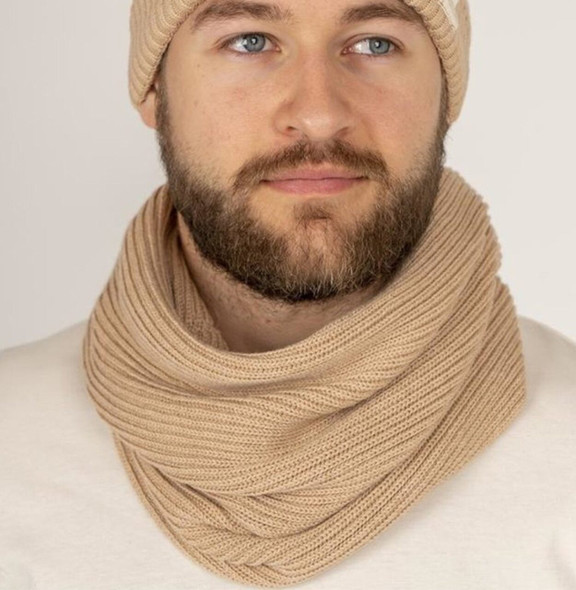 Body4Real Certified Organic Cotton Infinity Winter Scarf