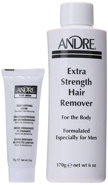 Andre Extra Strength Depilatory Cream Hair Remover for Men