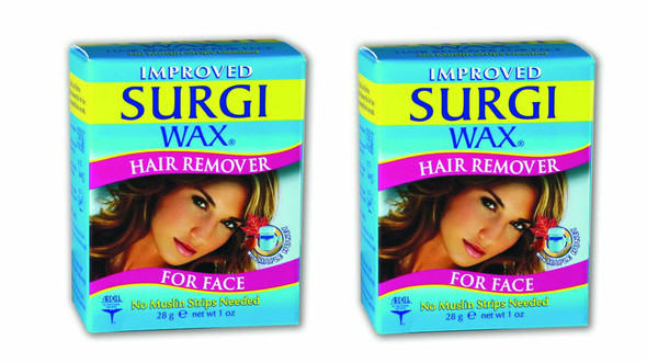 Surgi Facial Hair Removal Face Wax Twin Pack