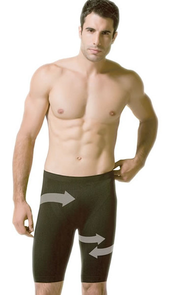 Scala Shapewear Men's Bermuda