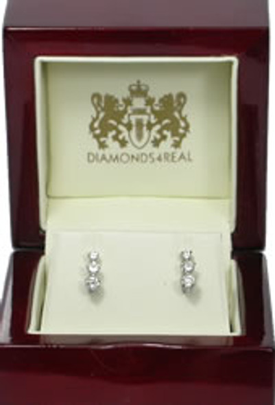 1.0 ct Diamond Drop Earrings