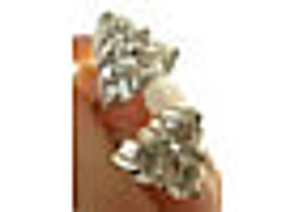 Uma Tri Stone Diamond Earring 0.5 Carat