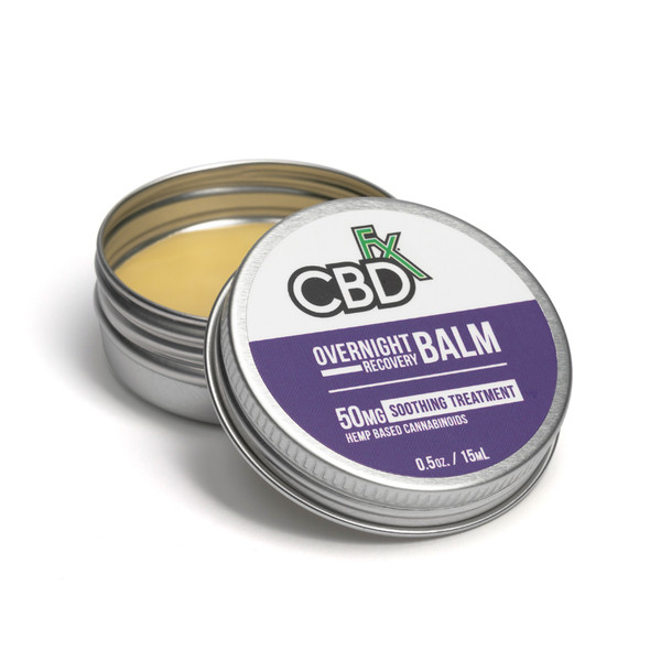 CBD Balm Overnight Recovery 100% Vegan Natural Balm has Organic Ingredients.