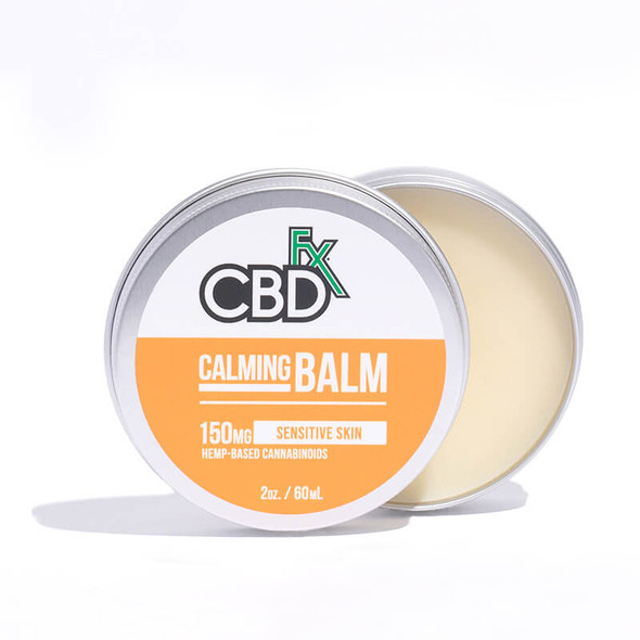 CBD Balm Calming 100% Vegan Natural Balm has Organic Ingredients.