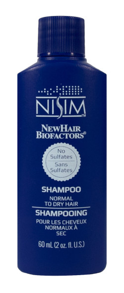 Nisim Deep Cleansing Shampoo - 60 ml - No Sulfates