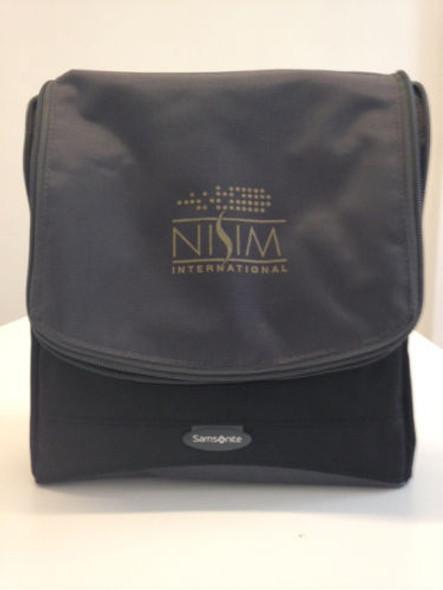 Nisim Samsonite Hanging Toiletry Kit / Travel Wash Bag Black (Mens/ Unisex)