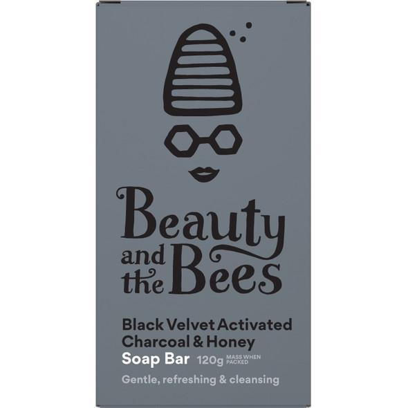Black Velvet Bamboo Charcoal Soap