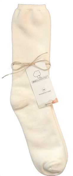 Body4real Organic Clothing 100% Certified Cotton Unisex Socks