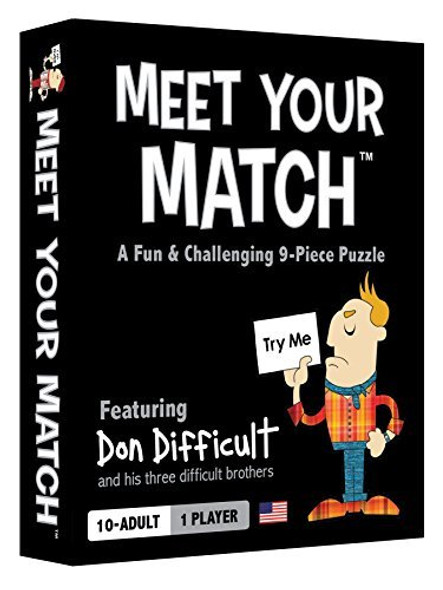 MEET YOUR MATCH (The Fun & Challenging Nine-Piece Puzzle) by All Things Equal (Creator of Loaded Questions)