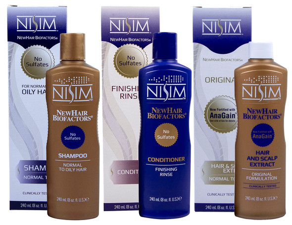 Nisim Biofactors Hair Loss Triple Pack