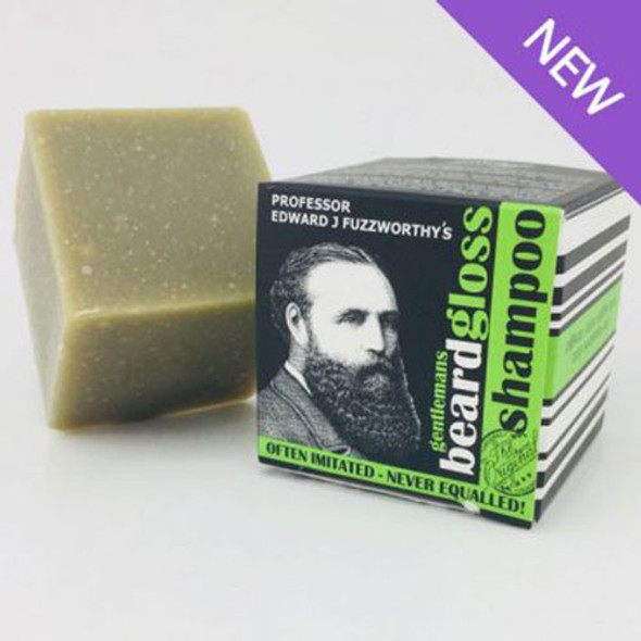 Beauty and the Bees Professor Edward J Fuzzworthy's Apple Cider Beard Gloss Shampoo Bar