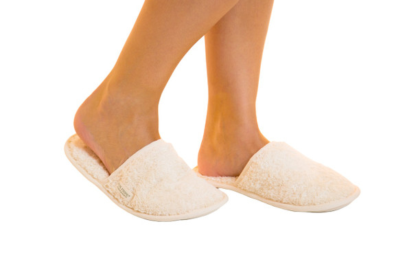 Body4Real Certified Organic Cotton Indoor Slippers
