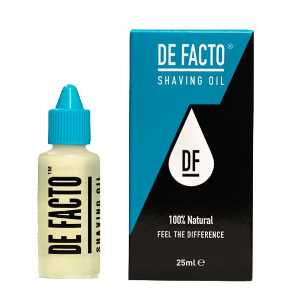DE FACTO Shaving Oil 25 ml (Formerly Total Shaving Solution)