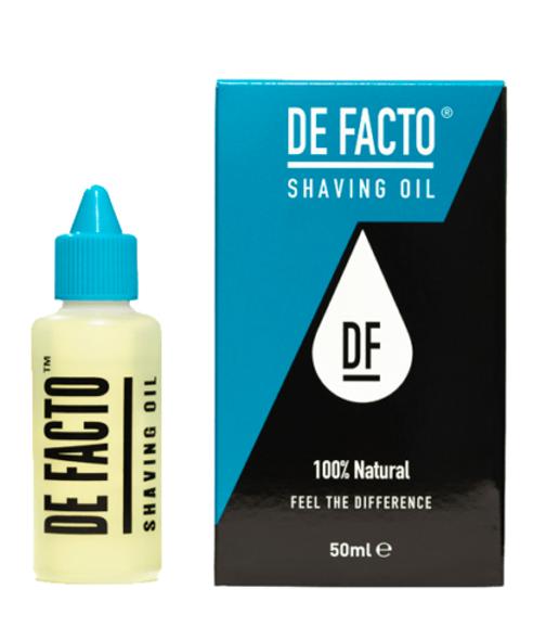 DE FACTO Shaving Oil 50 ml (Formerly Total Shaving Solution)