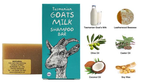 Tasmanian Goat's Milk Shampoo …