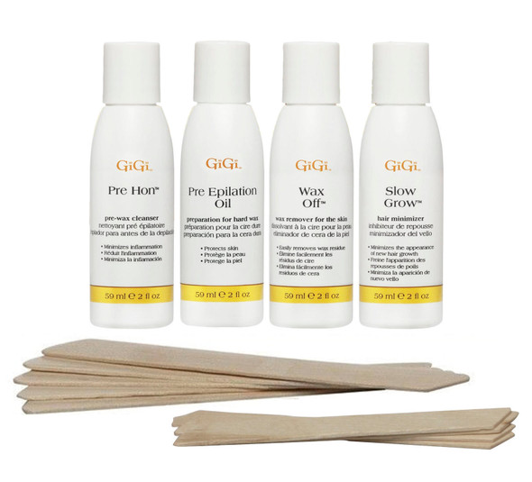 Gigi Brazilian Waxing Accessory Kit