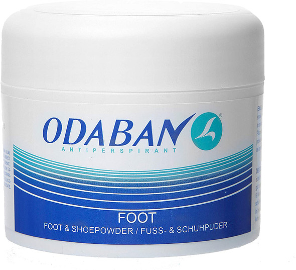 Odaban Antiperspirant Foot and Shoe Powder 50gm