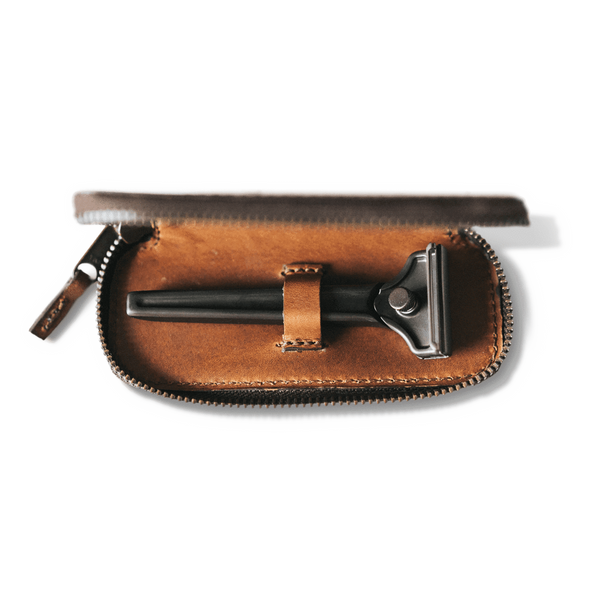 The Single Edge Travel Case - Bourbon by Supply