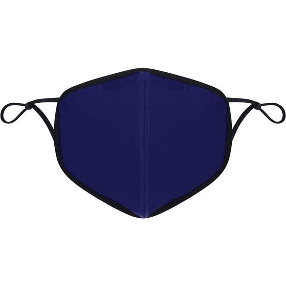Element Reusable Face Covering, Plain - Blue