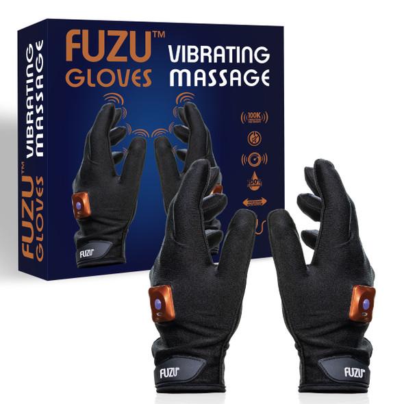 FUZU Vibrating Massage Gloves Set