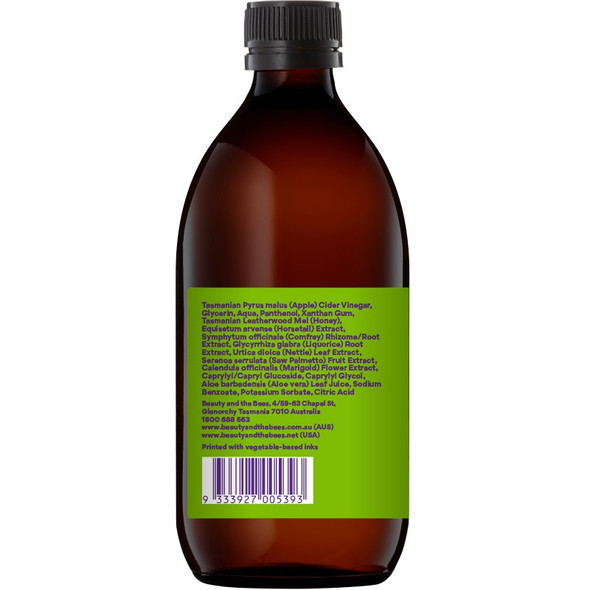 Beauty and the Bees Apple Cider Vinegar Hair + Scalp Saviour Gel