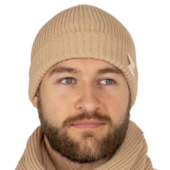 Body4Real Organic Natural Cotton Unisex Winter Knit Hat