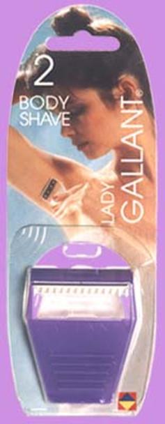 Gallant Body Shaver - No Pressure Disposable Razor
