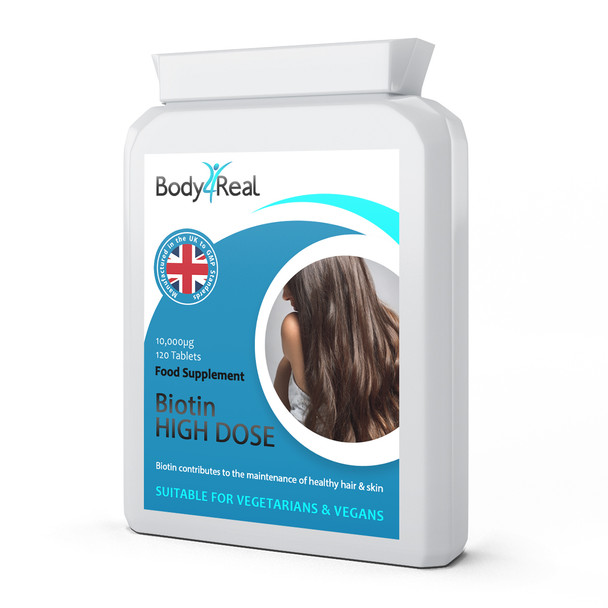Body4Real Biotin High Dose Food Supplement