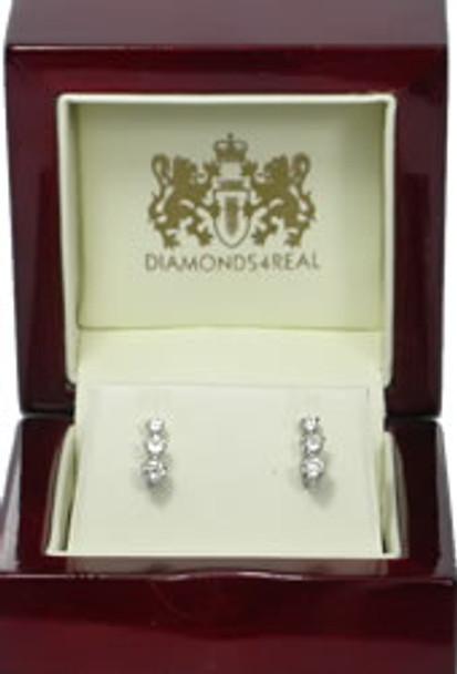 1.0 ct Diamond Drop Earrings