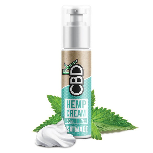 CBD Hemp Cream 100% Vegan Natural Cream has Organic Ingredients.