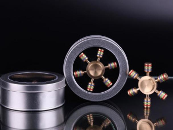 Solid 75g brass iSpin hand fidget spinner