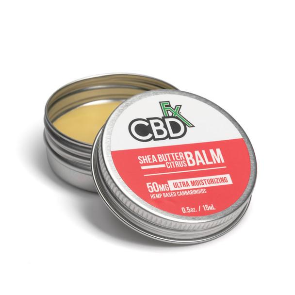 CBD Shea Butter Citrus 100% Vegan Natural Cream Has Organic Ingredients.