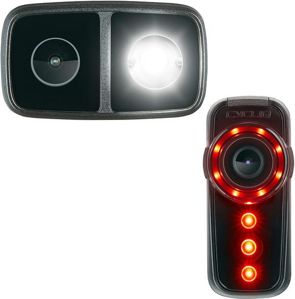 CYCLIQ Fly CE Cycling Camera Light Set HD Filming Film Cam Video Audio Recording