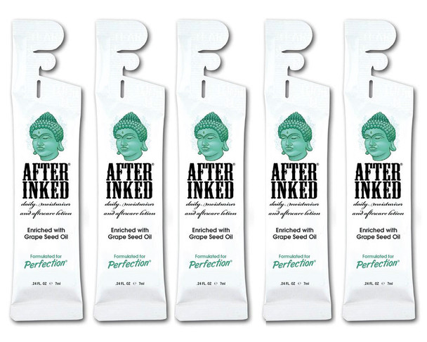 After Inked Tattoo After Care Lotion 7ml Sachets x5